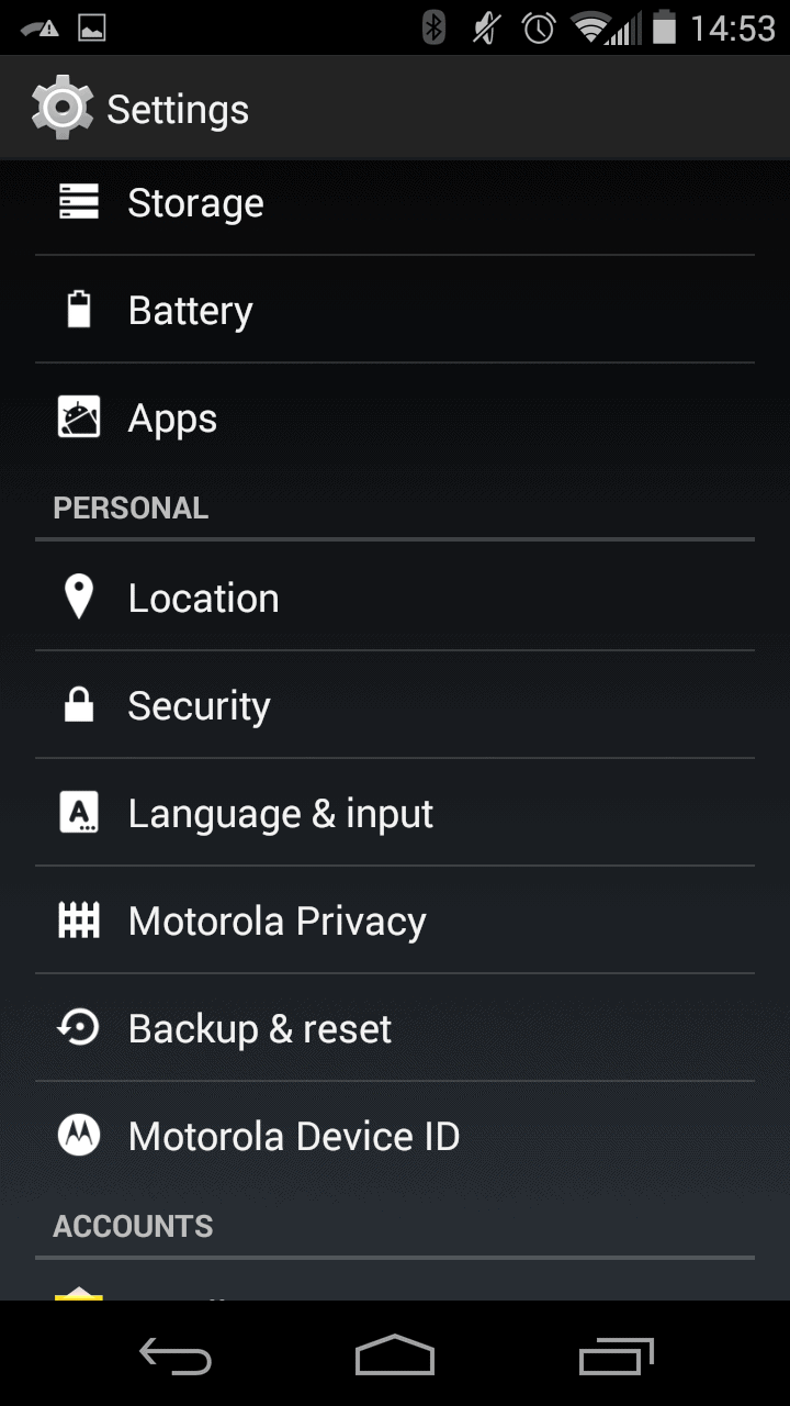 Disabling Android Lock Screen