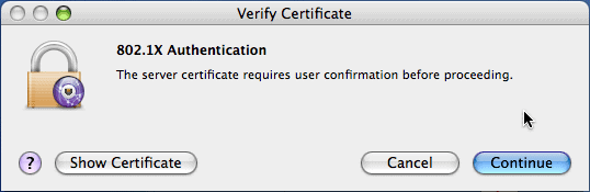 How many users do you think will actually read the certificate?