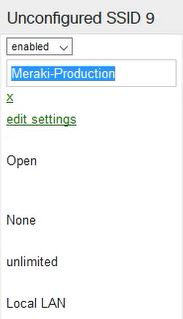 Creating an Onboarding SSID in Meraki
