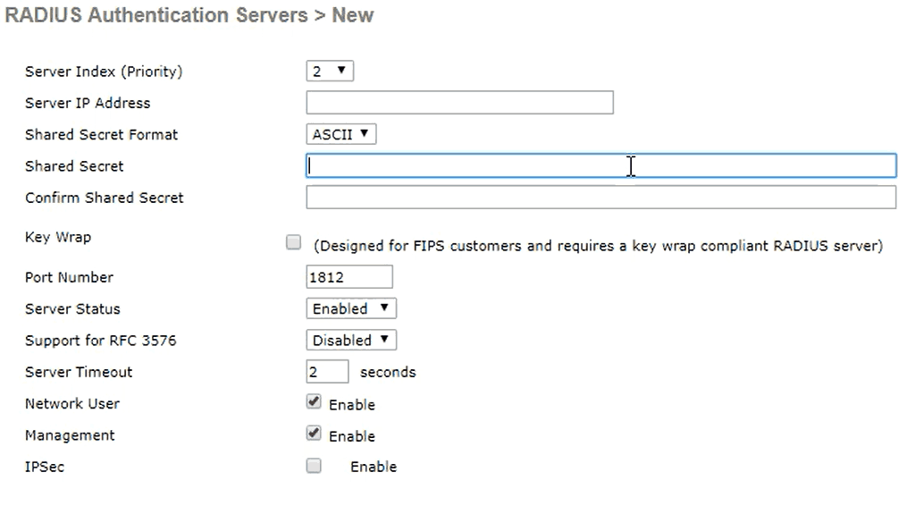 Information needed from SecureW2 to configure the RADIUS Server
